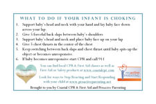 What to do if your infant is choking free download