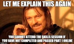 skills session